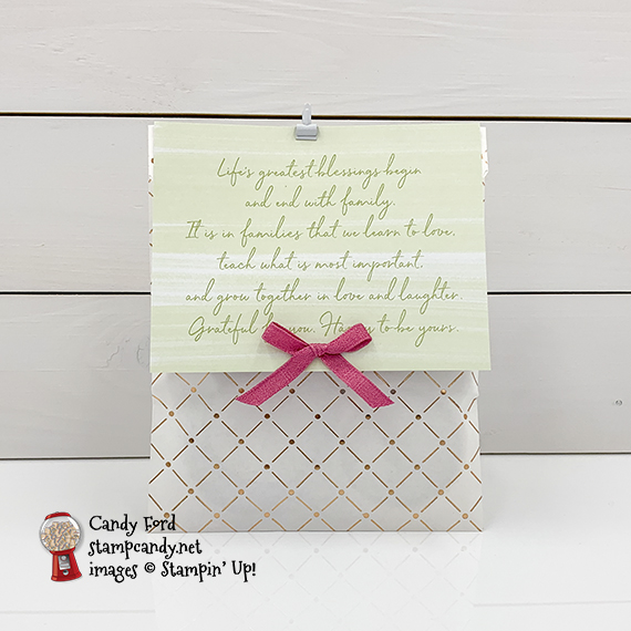 Stampin' Up! Paper Pumpkin April 2020 kit, My Wonderful Family for the APPT Blog Hop, Candy Ford #stampcandy