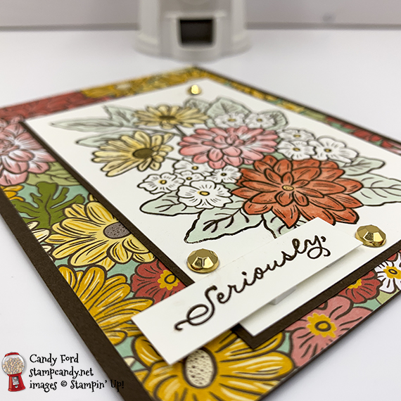 Stampin' Up! Ornate Garden Suite, Ornate Style, thank you card by Candy Ford #stampcandy
