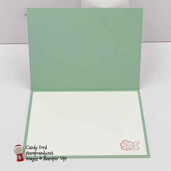 Stampin' Up! Ornate Garden Suite handmade so grateful card by Candy Ford of Stamp Candy in Mint Macaron
