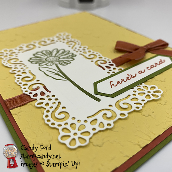 Stampin' Up! Ornate Garden Suite, here's a card by Candy Ford #stampcandy