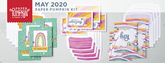 Stampin' Up! Paper Pumpkin May 2020 A Kit In Color #stampcandy