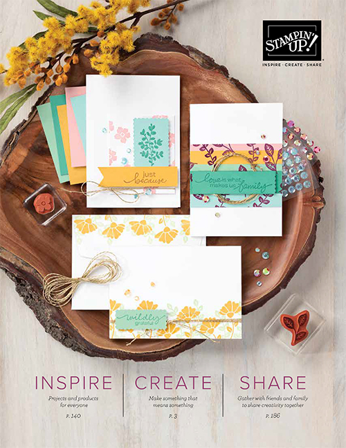 2020-2021 Stampin' Up! Annual Catalog
