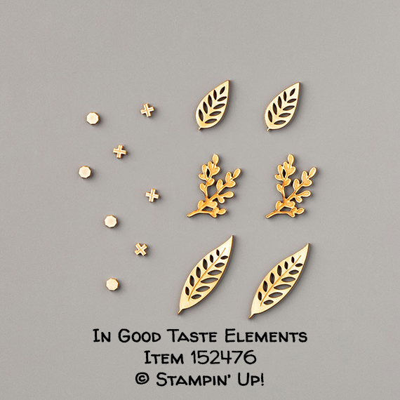 In Good Taste Elements Item 152476 #stampcandy #stampinup