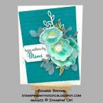 made by Joanne Brown, Independent Stampin