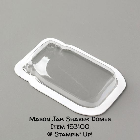 Mason Jar Shaker Domes Item 153100 #stampcandy #stampinup