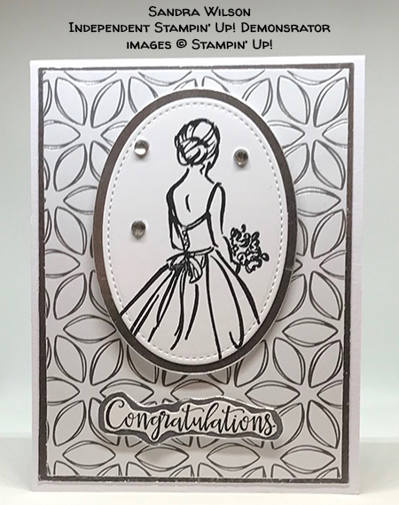 made by Sandra Wilson, Independent Stampin' Up! Demonstrator, for Candy Hearts Quarterly Challenge #stampcandy