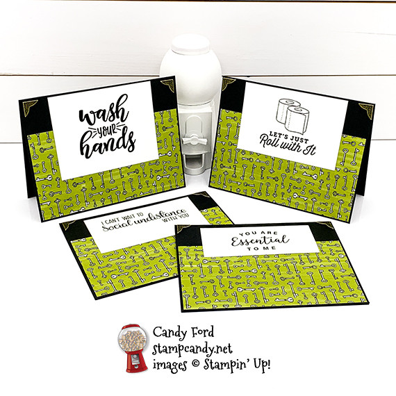 Masculine Cards for COVID-19 Giveback