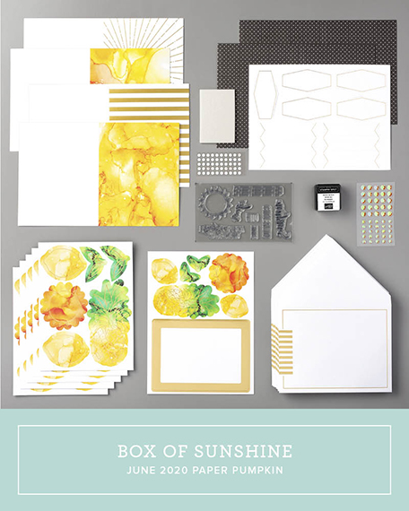 Box of Sunshine, July 2020 Paper Pumpkin, Stampin' Up!