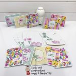 Flowers for Every Season, Four Season Floral stamp set, beginner cards, Candy Ford #stampcandy
