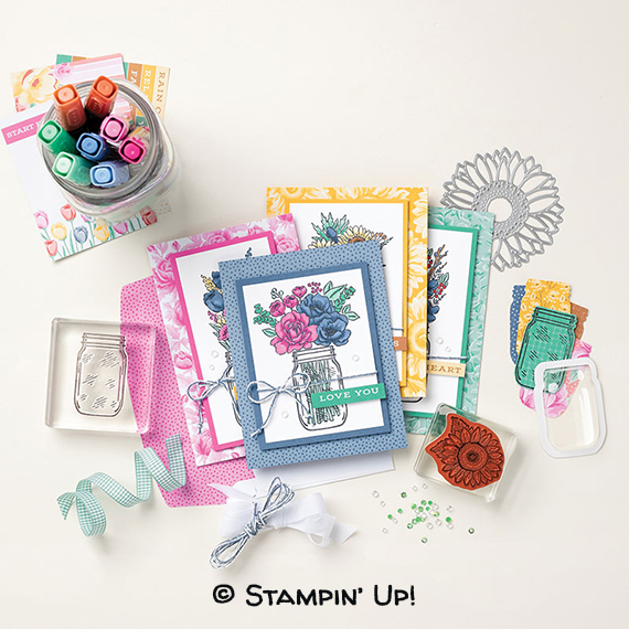 Flowers for Every Season Suite © Stampin' Up!
