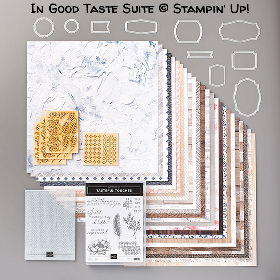 In Good Taste Suite © Stampin' Up!