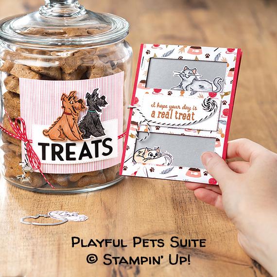 Playful Pets Suite © Stampin Up!