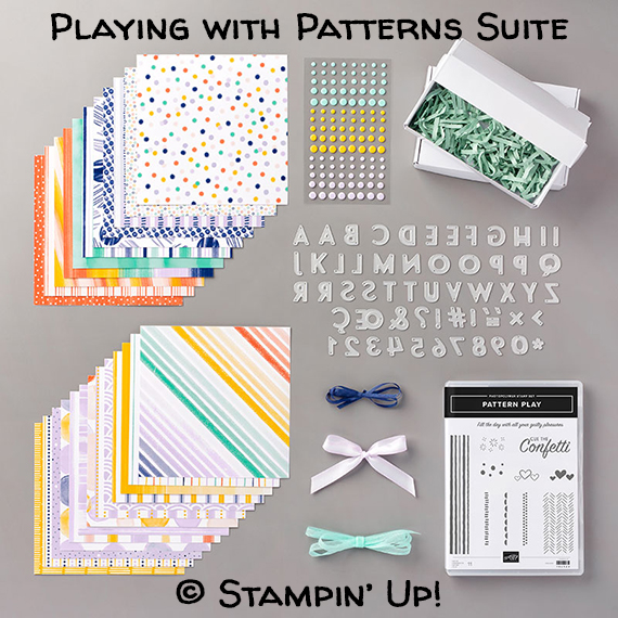 Playing with Patterns Suite © Stampin' Up!