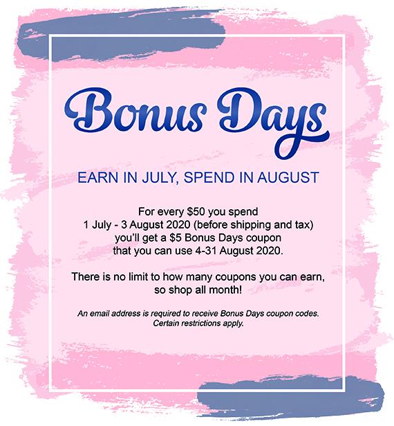 Bonus Days 2020 #stampcandy #stampinup