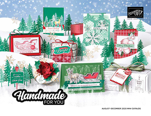 Stampin' Up! Aug-Dec 2020 Mini Catalog