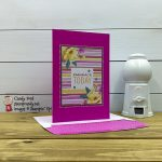 Flowers for Every Season Cards & Envelopes and Card Pack, 2020-2022 In Color Enamel Dots, Magenta Madness, Candy Ford #stampcandy