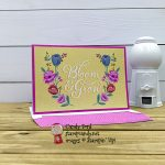 Flowers for Every Season Cards & Envelopes and Card Pack, Magenta Madness, Candy Ford #stampcandy