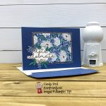Flowers for Every Season Cards & Envelopes and Card Pack, Bloom & Grow stamp set, Forever Flourishing Dies, Misty Moonlight, Candy Ford #stampcandy