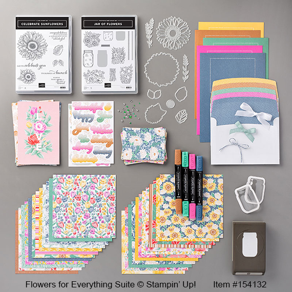 Flowers for Everything Suite © Stampin' Up!