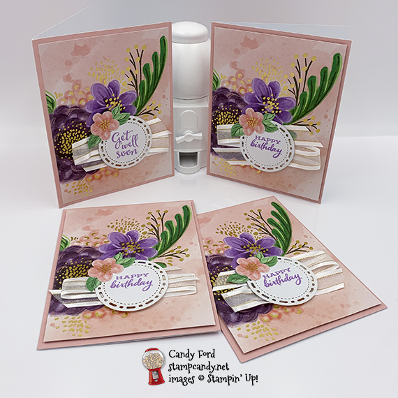Gorgeous Posies Project Kit #stampcandy #handmadecards #stampinup