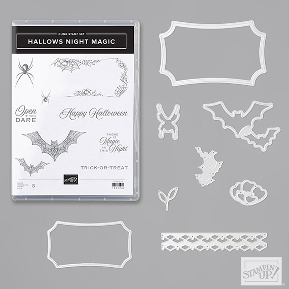 Hallows Night Magic Bundle, Item 155188, Stampin' Up!, shop at stampcandy.com #stampcandy