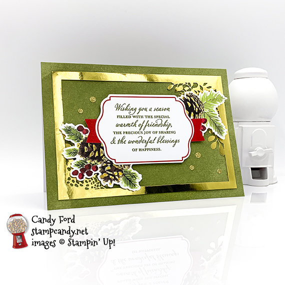 Joy of Sharing Card Kit, Candy Ford #stampcandy #handmadecards #stampinup #christmascards #christmas