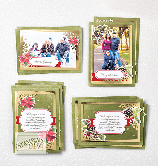 Joy of Sharing Card Kit, Candy Ford #stampcandy #handmadecards #stampinup $christmascards #christmas