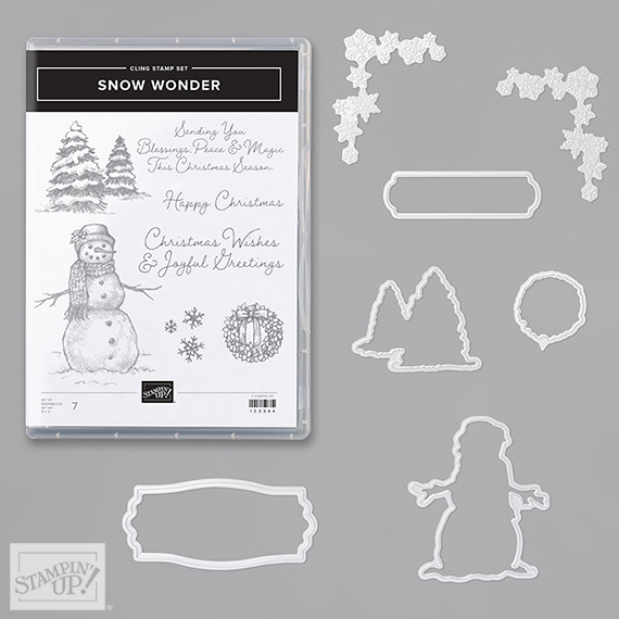 Snow Wonder Bundle, Item 155185, Stampin' Up! Shop at stampcandy.com #stampcandy