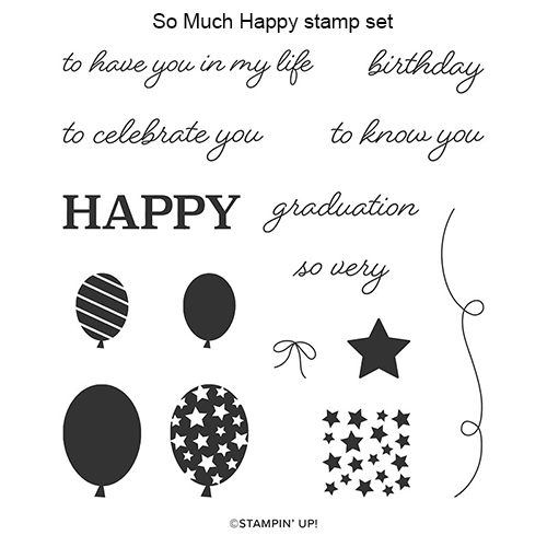 So Much Happy stamp set © Stampin' Up!