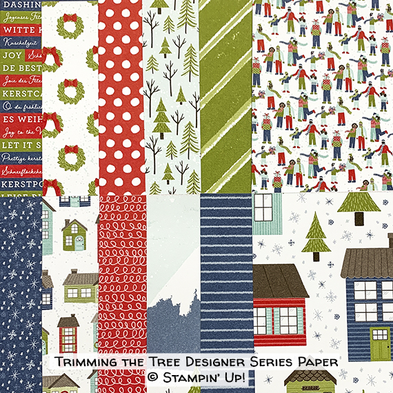 Trimming the Town Designer Series Paper © Stampin' Up!