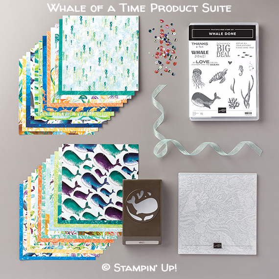 Whale of a Time Product Suite @ Stampin' Up! Item # 154126