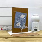 Flowers for Every Season Cards & Envelopes and Card Pack, Scalloped Lace Trim, Feeling Festive card #stampcandy #handmadecards #stampinup #memoriesandmore