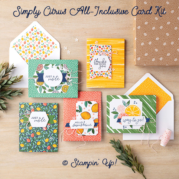 Simply Citrus All-Inclusive Card Kit © Stampin' Up!