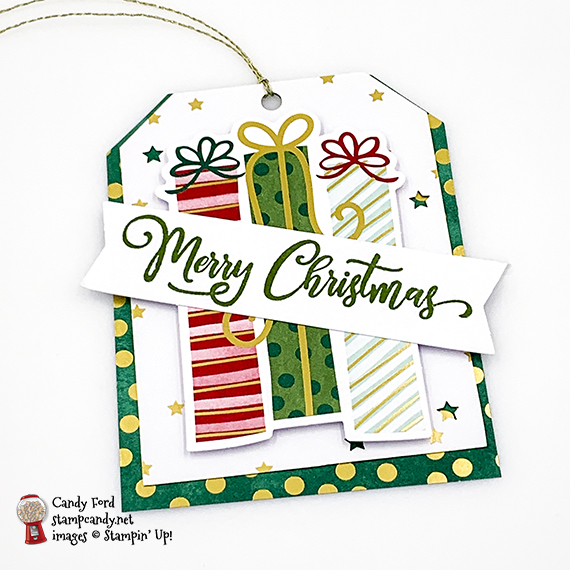 Stampin' Up! Tag Buffet Project Kit handmade tags by Candy Ford of Stamp Candy