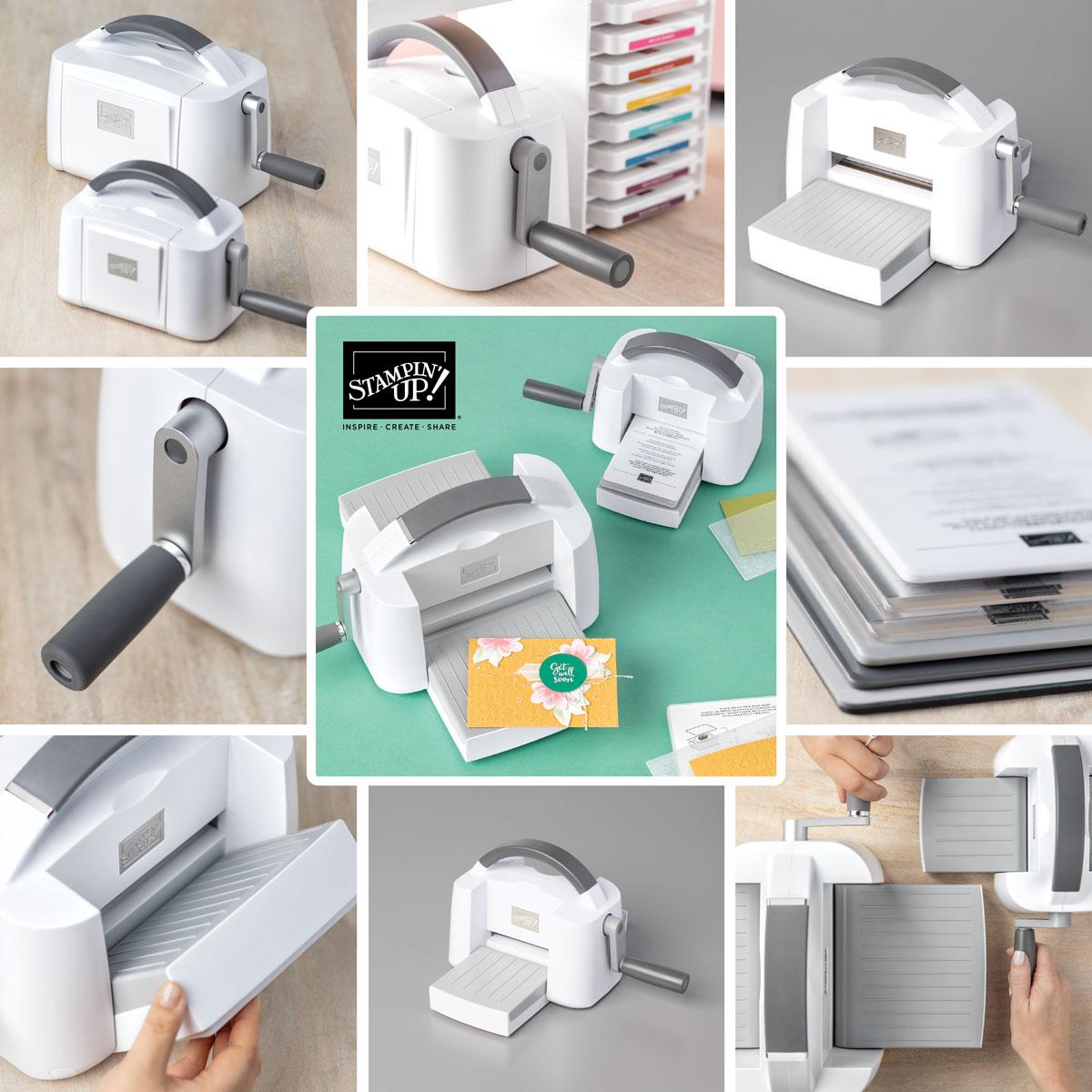 Stampin' Cut & Emboss Machine © Stampin' Up! #stampcandy