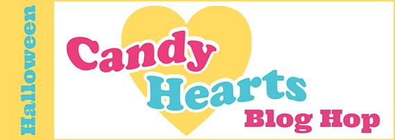 Candy Hearts Blog Hop, September 2020, Halloween