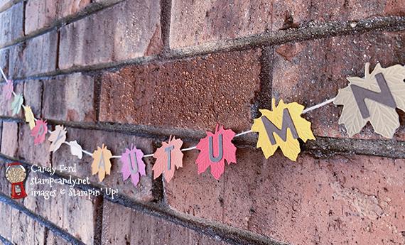Happy Autumn Banner #stampcandy