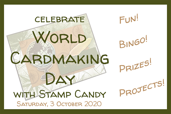 WCMD, World Card Making Day with Stamp Candy #stampcandy #cardmaking #worldcardmakingday #WCMD