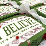 Christmas Means More Treat Holders, Treat Box Dies #stampcandy