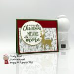 Maybe Christmas Means More card #stampcandy