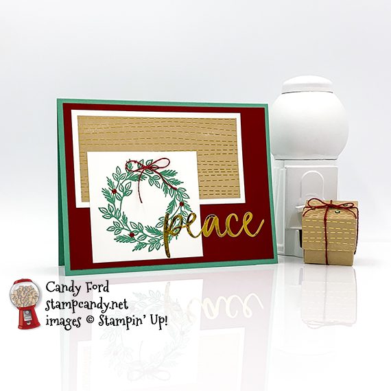 "October 2020 Paper Pumpkin kit ""Joy to the World"" alternate projects #stampcandy"