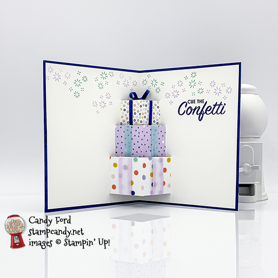 Playing With Patterns Pop Up Birthday Card