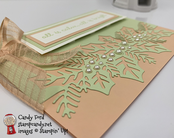 Sweetest Time Bundle (Sweetest Time stamp set and Sweetest Borders Dies) #stampcandy #stampinup #handmadecards