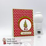 Gnome for the Holidays, A Little Christmas Wish #stampcandy