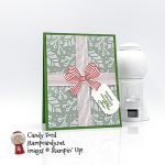 Gift Wrapped Especially For You, Christmas card and gift card holder #stampcandy