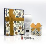 Gift Wrapped Bundle, Celebrate in style Christmas Card & box #stampcandy