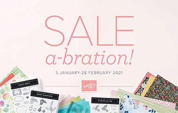 Stampin' Up! Sale-A-Bration Jan-Feb 2021
