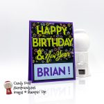 Happy New Year & Birthday card for 12-2020 IRBH #stampcandy #irbh