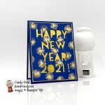 Happy New Year 2021 for December 2020 Candy Hearts Blog Hop #stampcandy #candyhearts
