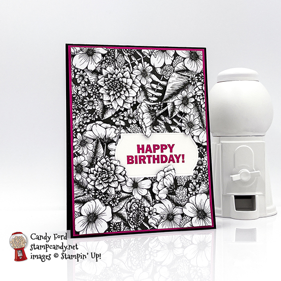 True Love Approaching Perfection Happy Birthday card #stampcandy